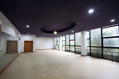 Empty hall interior. View of empty hall interior Stock Image