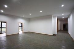 Empty hall interior stock photography