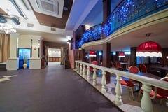 Empty hall in restaurant Royalty Free Stock Photos