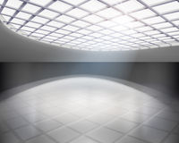 Empty hall. Vector illustration. Royalty Free Stock Photos