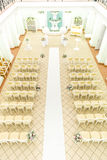 Empty hall for wedding ceremonies Stock Photos