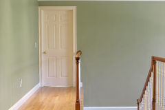 Empty Hallway. With Copy Space Stock Photography