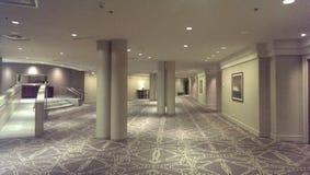 Empty hallway Stock Images
