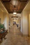 Empty hallway in house Stock Photo