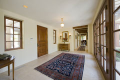 Empty hallway in house royalty free stock photography