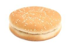 Empty hamburger Stock Photo