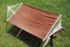 Empty hammock Royalty Free Stock Photos
