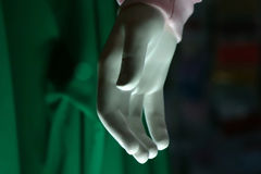 Empty Hand. Abstract photo of an empty white hand Stock Photo