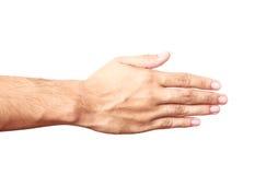Empty hand isolated Stock Photo