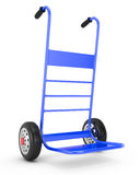 Empty hand truck Royalty Free Stock Photos