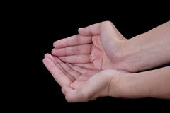 Empty Hands Stock Photography