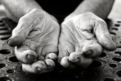 Empty hands Stock Images