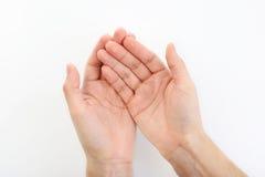 Empty hands Stock Image