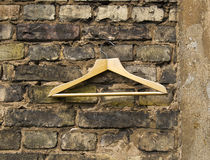 Empty hanger on the wall Royalty Free Stock Photos