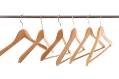 Empty hangers Royalty Free Stock Photo