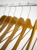 Empty hangers Stock Photos