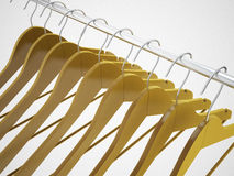 Empty hangers Royalty Free Stock Photography