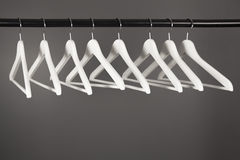 Empty Hangers Royalty Free Stock Photo