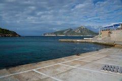 Empty harbor Royalty Free Stock Photo