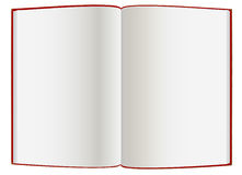 Empty  hardcover book Stock Photos