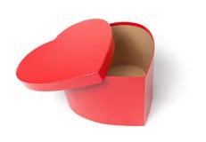 Empty Heart Shaped Box Royalty Free Stock Image