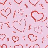 Empty hearts Stock Image