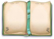 Empty herbal book - illustration stock illustration