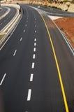 Empty highway Royalty Free Stock Photo