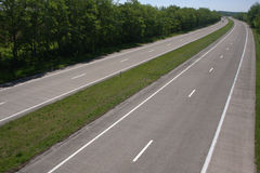 Empty highway Stock Photos