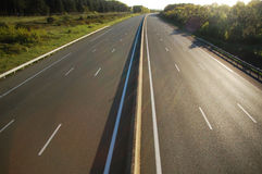Empty highway Royalty Free Stock Images