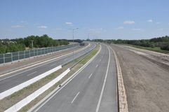 Empty highway Stock Image