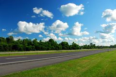 Empty highway Royalty Free Stock Photos