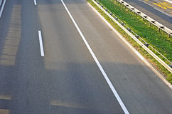 Empty highway Stock Photography