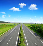 Empty Highway Royalty Free Stock Photo