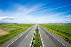 Empty highway Stock Photos