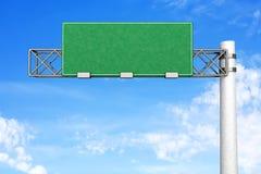 Empty Highway Sign vector illustration