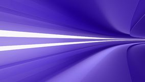 Empty highway with spotlights color purple. Dynamism and speed, 3d render Royalty Free Stock Image
