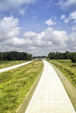 Empty highway at sunny day Royalty Free Stock Images