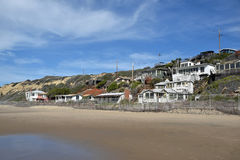 Free Empty, Historic Homes In The Crystal Cove State Park, Southern California. Stock Photography - 84181092