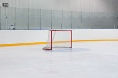 Empty hockey gate Royalty Free Stock Photos