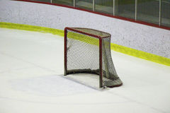 Hockey net  Royalty Free Stock Photography