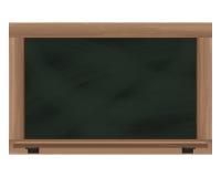 Empty horizontal blackboard frame object Stock Photography