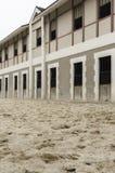 Empty horse barn Royalty Free Stock Photos