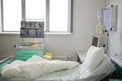 Empty hospital bed Royalty Free Stock Photo