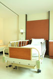 Empty hospital bed Stock Image