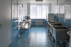 Empty hospital kitchen Stock Photography