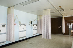 Empty Hospital Room Royalty Free Stock Photography