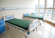 Empty hospital room Royalty Free Stock Photo