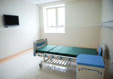 Empty hospital room Royalty Free Stock Images