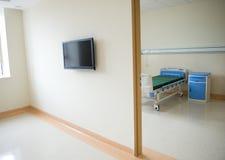 Empty hospital room Stock Photo